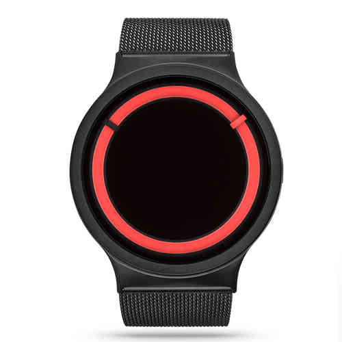 ECLIPSE METALLIC black red