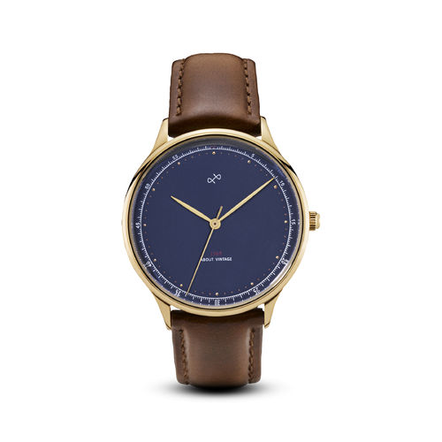 ABOUT VINTAGE 1969 VINTAGE, GOLD / MIDNIGHT BLUE - 36 mm