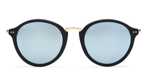 "KAPTEN & SON - MAUI ""matt black blue mirrored"", Sonnenbrille"