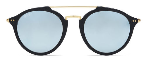 "KAPTEN & SON - FITZROY ""matt black blue mirrored"", Sonnenbrille"
