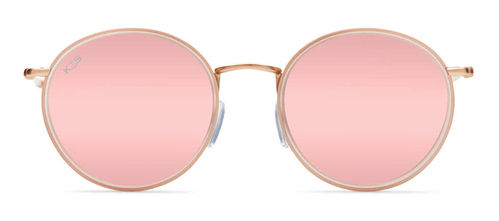 "KAPTEN & SON - AMSTERDAM ""all pink mirrored"", Sonnenbrille"