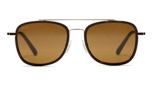 KAPTEN & SON - MIAMI Matt Tortoise Brown