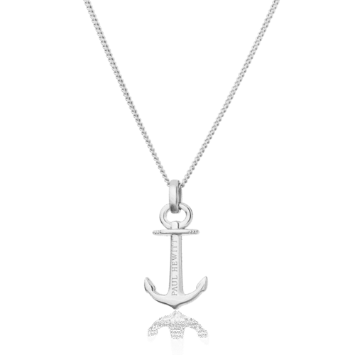 PAUL HEWITT - Halskette -  ANCHOR SPIRIT PLATED - Silber