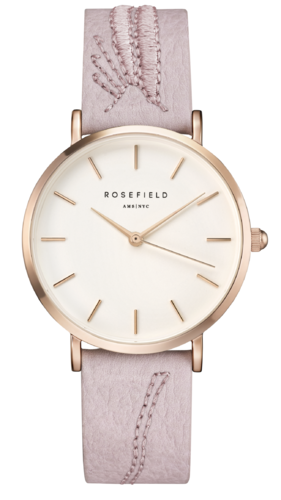 ROSEFIELD - CITY BLOOM Blossom Weiß - Roségold / 33mm -  CIBLR-E91