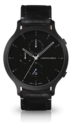 LILIENTHAL BERLIN - CHRONOGRAPH - BLACK - 42,5 MM