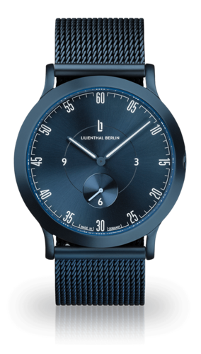 LILIENTHAL BERLIN - L1 - KLEIN - ALL BLUE MESH - 37,5 MM