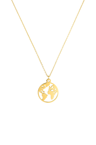 PAUL VALENTINE - WORLD NECKLACE GOLD