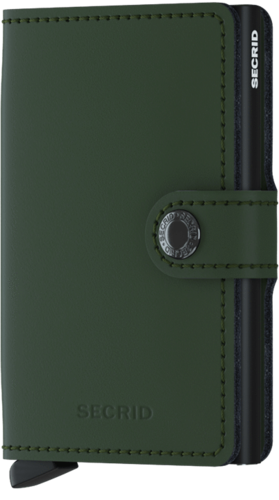 SECRID MINIWALLET - MATTE Green Black