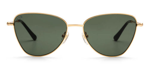 "KAPTEN & SON - SAN FRANCISCO ""gold green"", Sonnenbrille"