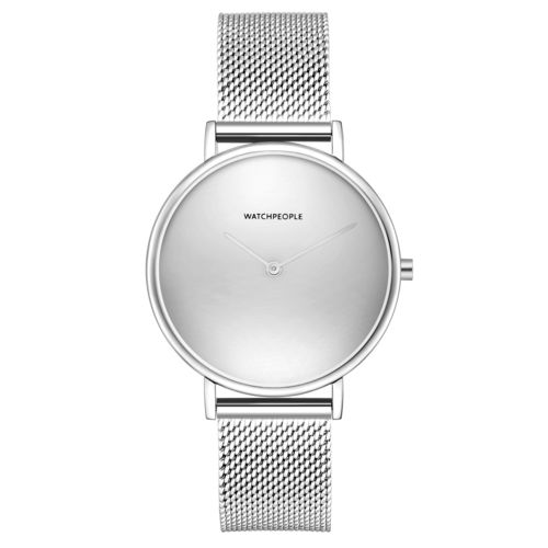 WATCHPEOPLE / YES MINIMAL MESH - silber/ silber/ silber - 35 MM