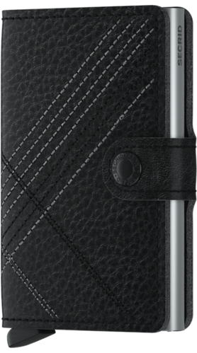 SECRID MINIWALLET - STITCH Linea Black