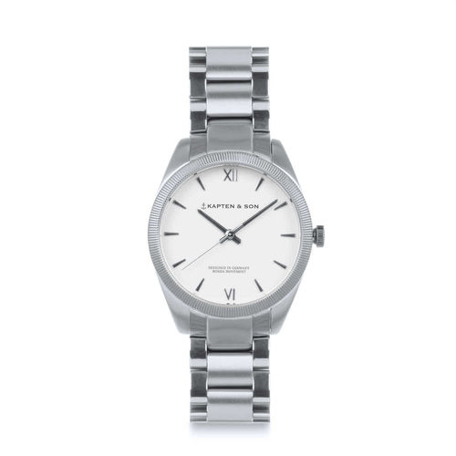 KAPTEN & SON - CRUSH silver - steel, Unisex