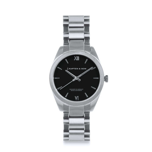KAPTEN & SON - CRUSH black - steel, Unisex