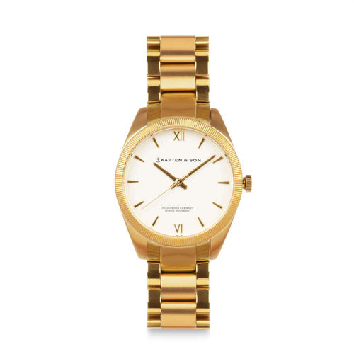 KAPTEN & SON - CRUSH gold - steel, Unisex