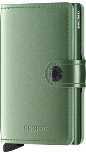 SECRID MINIWALLET - METALLIC Green