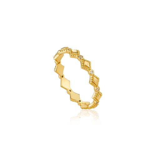 "ANIA HAIE - ""BOHEMIA RING"" - gold"
