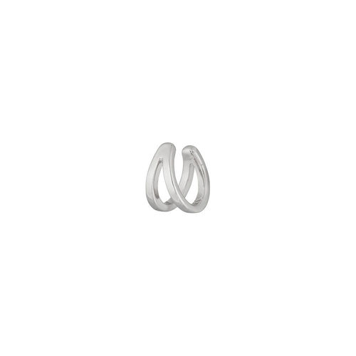 """EARCUFF DOUBLE LINE"" - 925 Sterling Silber, 10 mm"