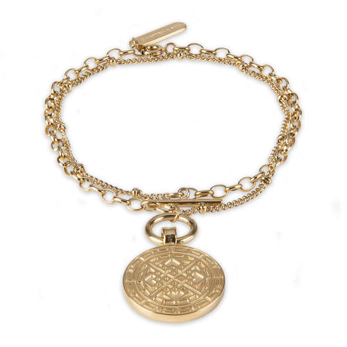 KAPTEN & SON - Bracelet Charming Marrakech - Gold