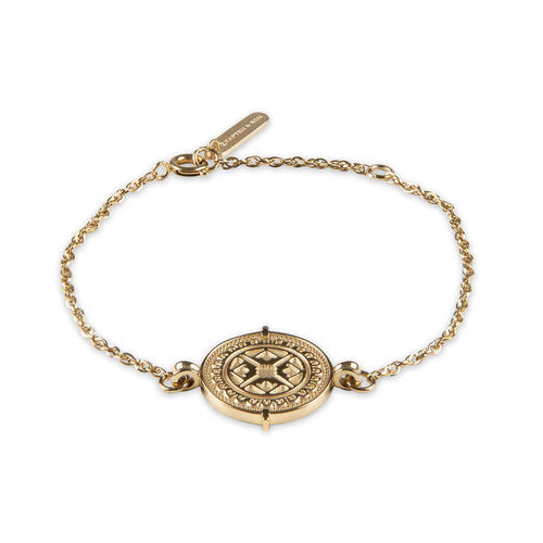 KAPTEN & SON - Bracelet Coin Marrakech - Gold